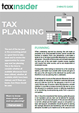 3 minute guide download tax planning