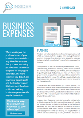 3 minute guide download business expenses