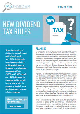 3 minute guide download dividend tax rules