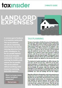 3 minute guide download Landlord Expenses
