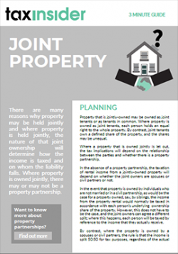 3 minute guide download joint property