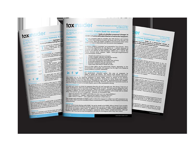 tax insider newsletters