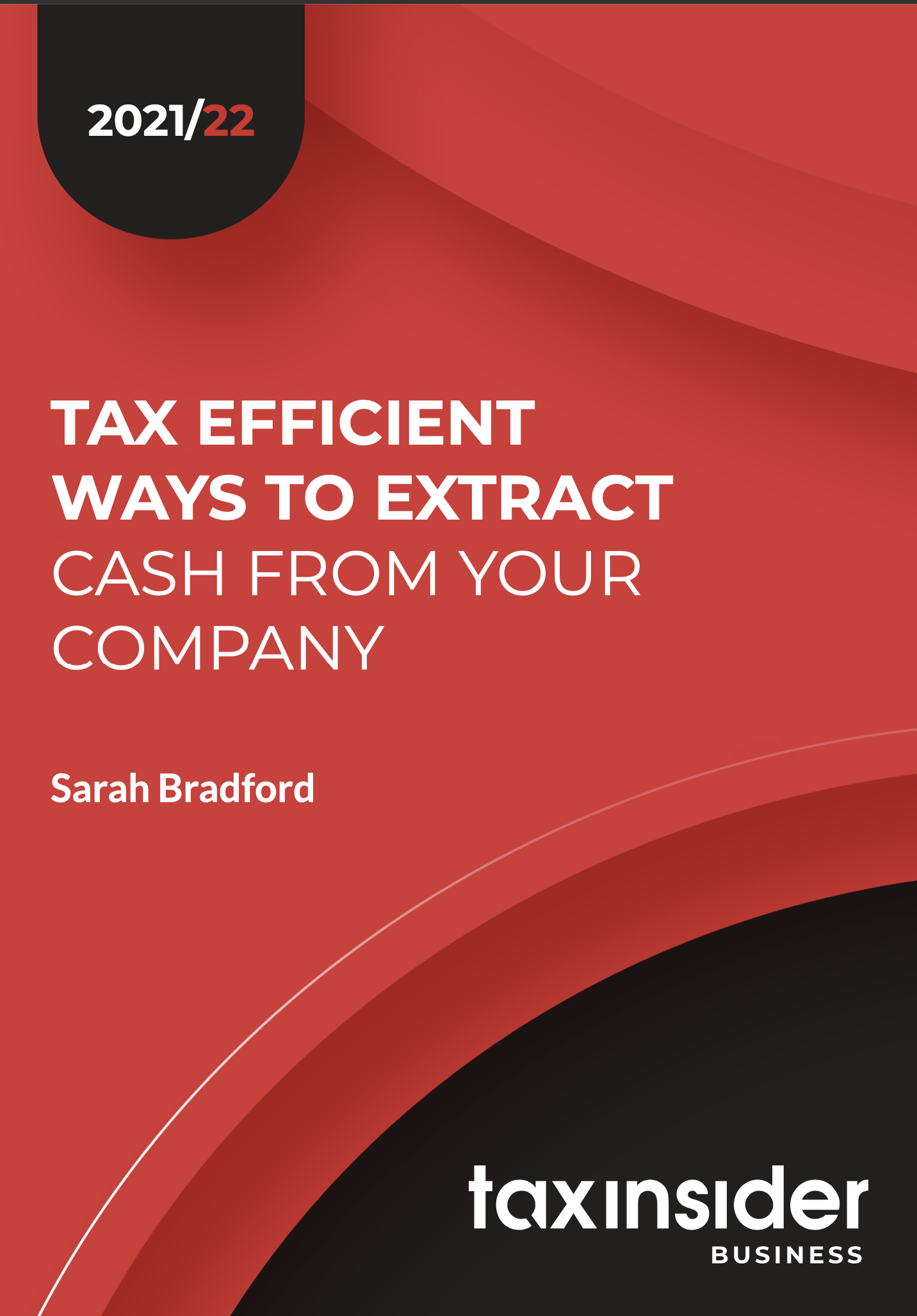 tax efficient ways to extract cash report