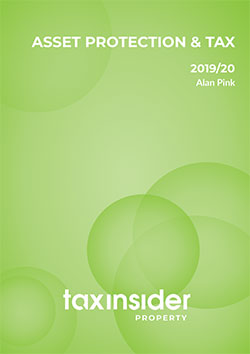 Asset protection and tax property tax report cover green