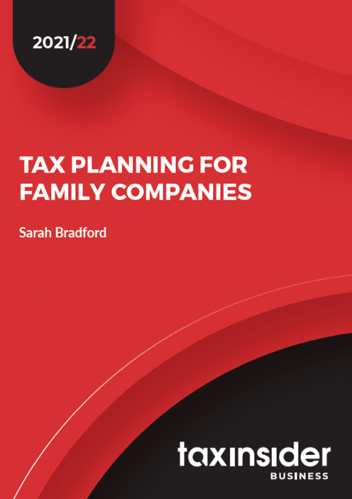Tax planning for family companies